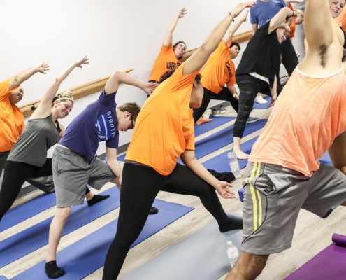 Yoga Classes At The Cage JSA