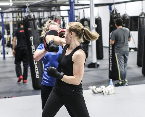 Cardio Kickboxing & Self Defense Training in Cromwell